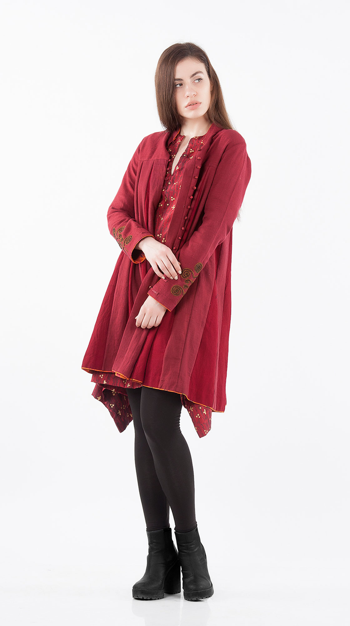 Sonam Dubal Tree of Life Swing Coat