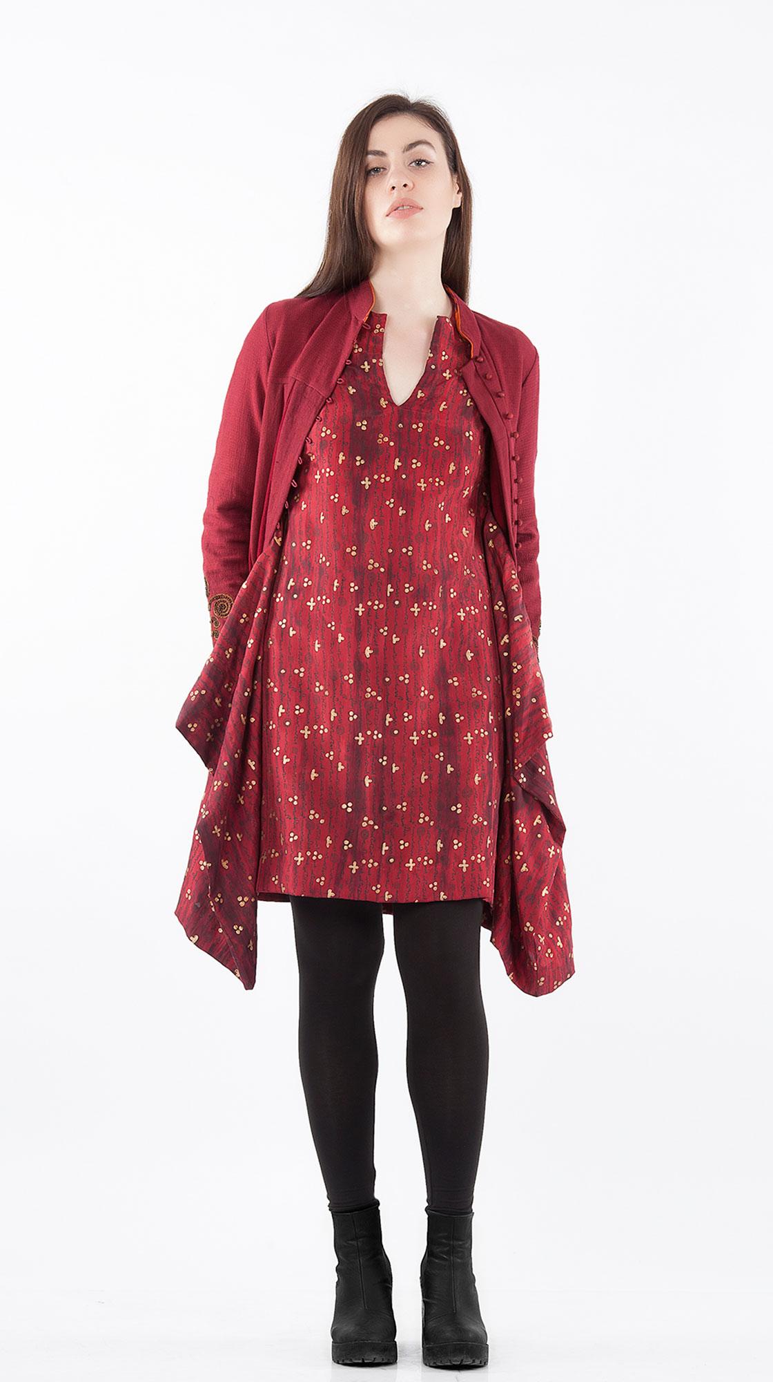 Sonam Dubal Etching Asymetrical Dress