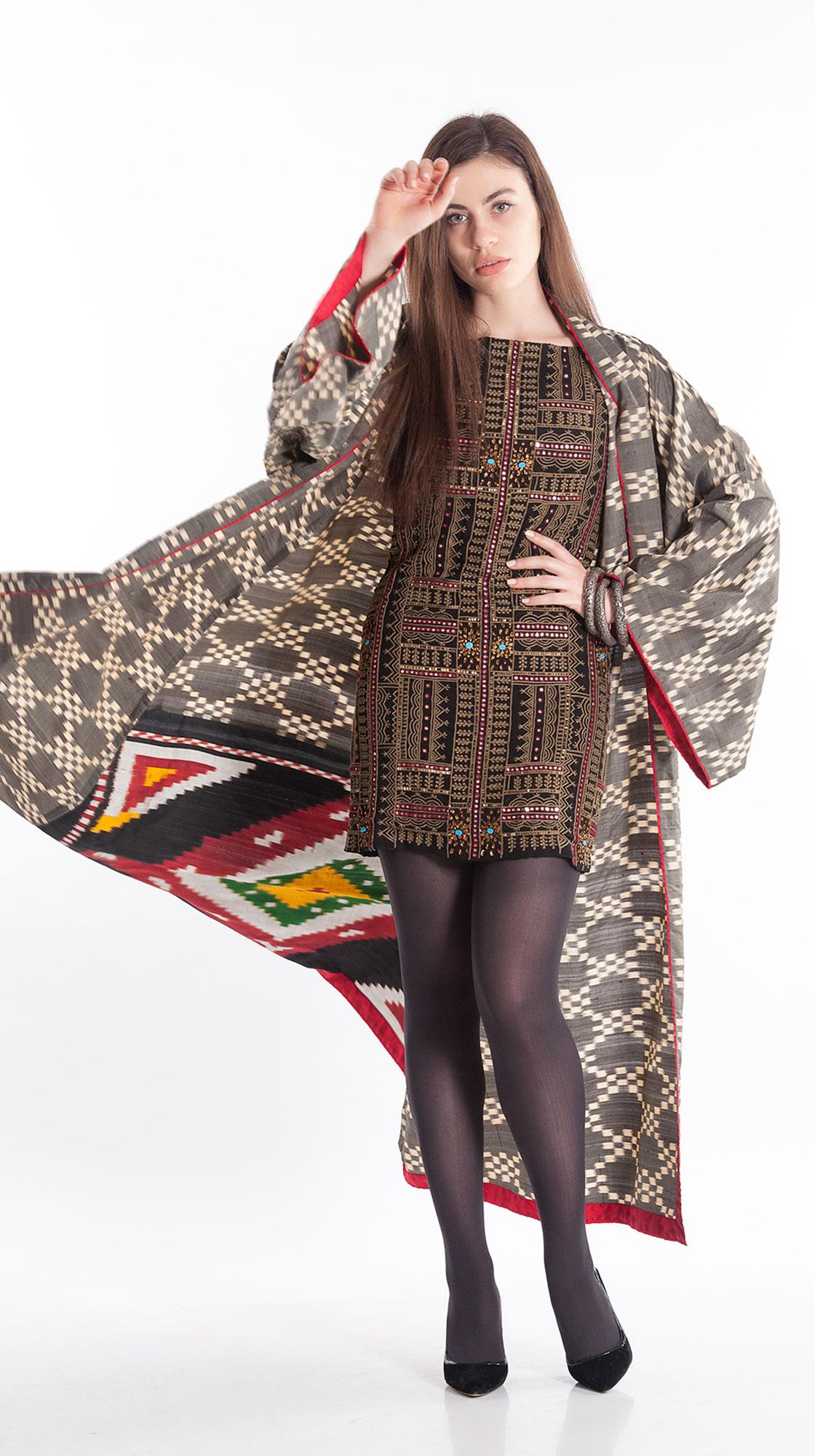 Sonam Dubal Ikat Kimono