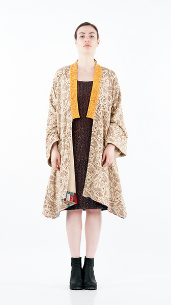 Kimono Short Cape