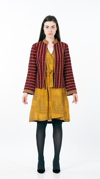 Thread Embroidered Jacket