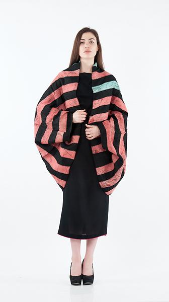 Sleeveless Cowl Wrap Dress