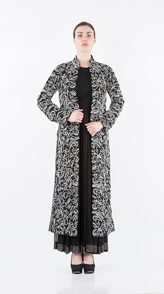 Dori Embroidered Long Coat