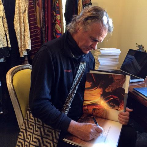 Wade Davis book signing