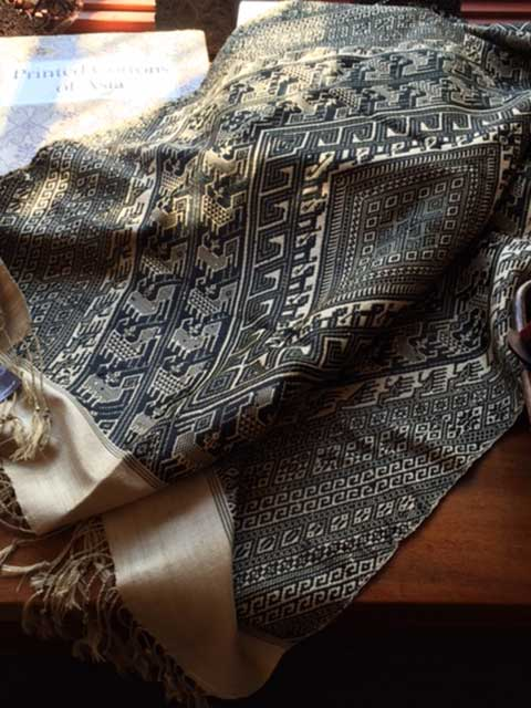 Eco-fashion shawl