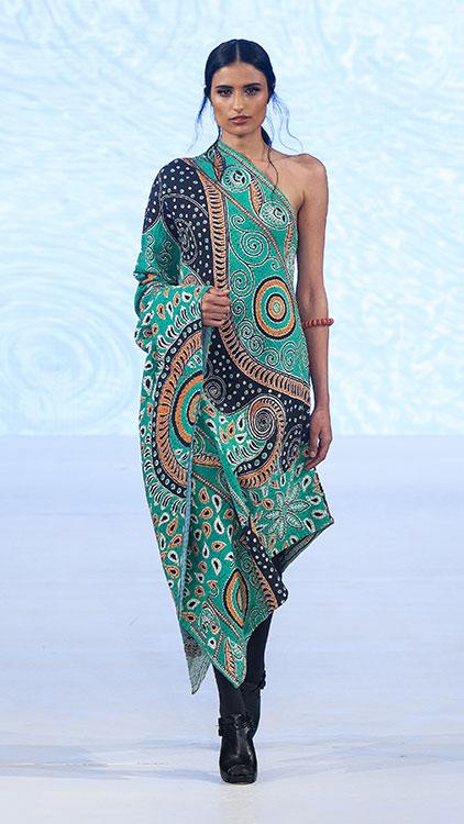 Sonam Dubal One Shoulder Dress